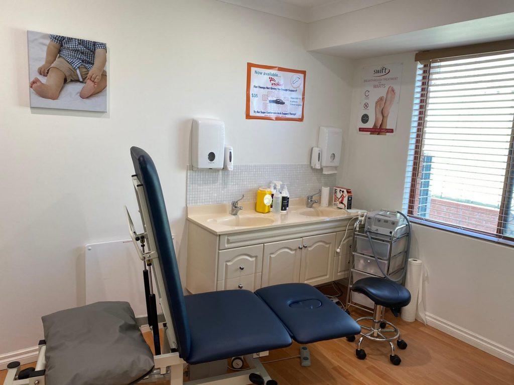 Inside of treatment room
